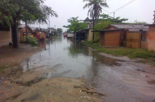 Article : Une petite pluie, et Cotonou est inondée