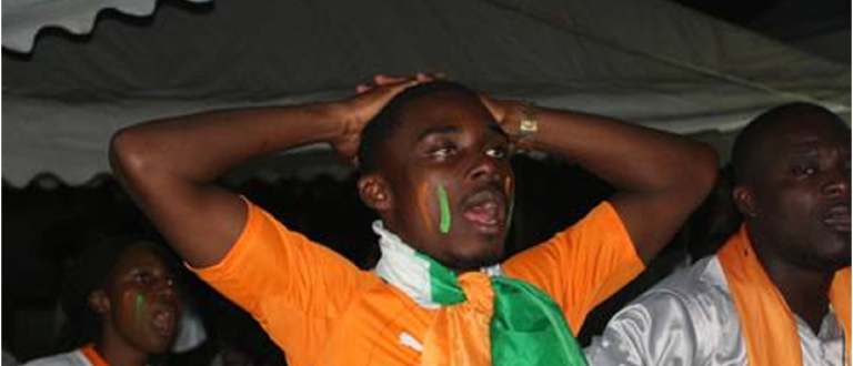 Article : Can 2015 : A Cotonou, la communauté ivoirienne a eu 80 minutes de stress
